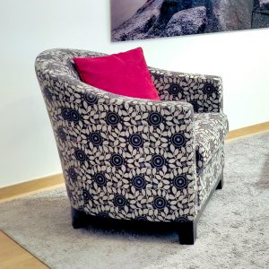 Sofa Chairs with Red Cushions